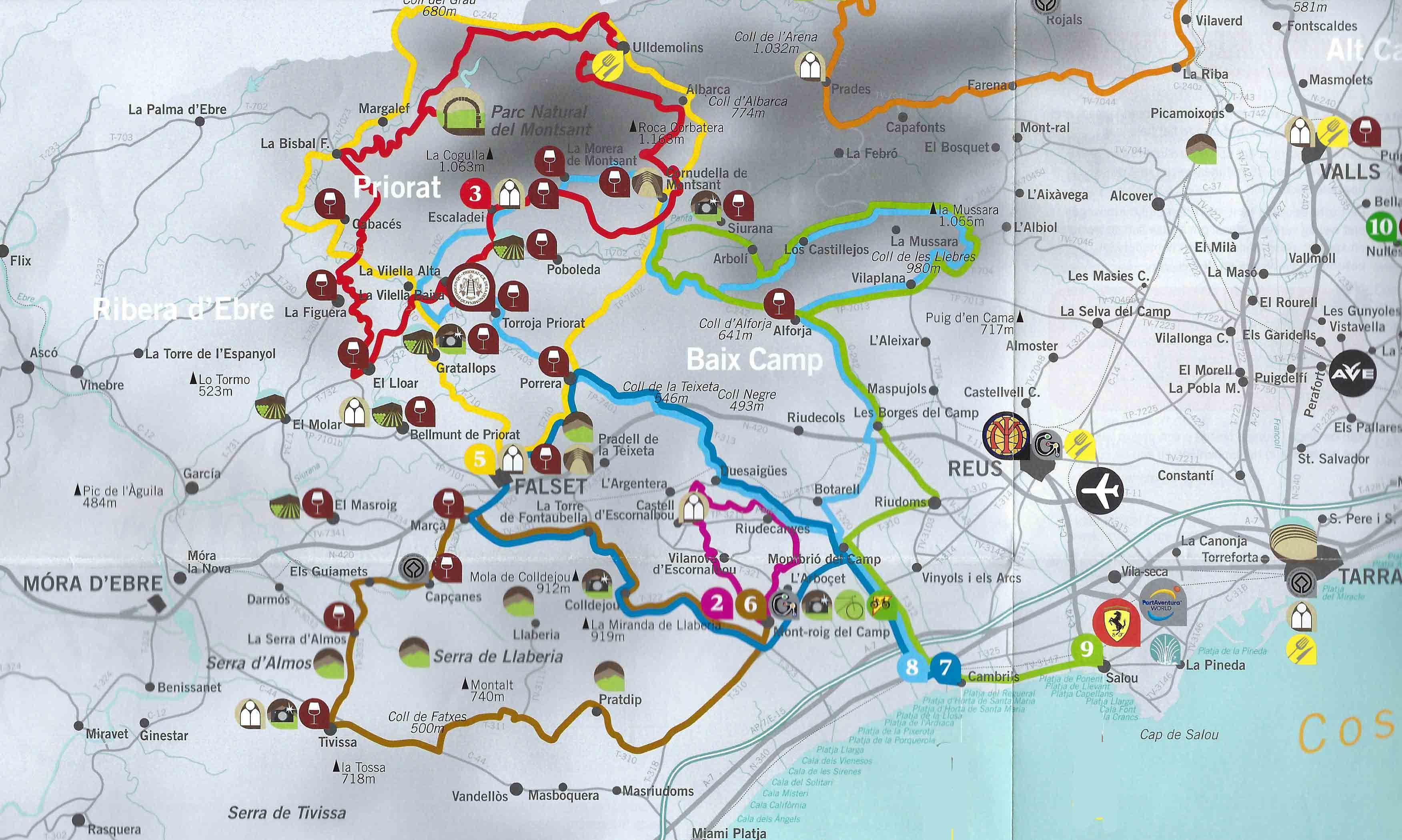 Cycling In Cambrils Costa Dorada Bikecation